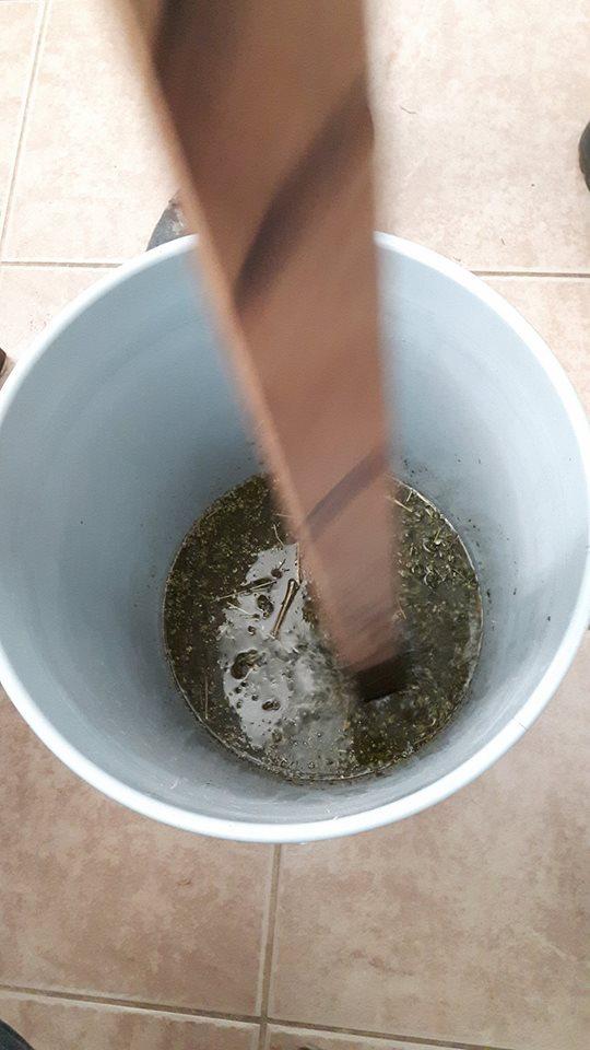 making_oil